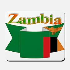 Ribbon Zambia Mousepad