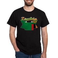 Ribbon Zambia T-Shirt