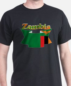 Ribbon Zambia T-Shirt