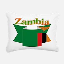 Ribbon Zambia Rectangular Canvas Pillow