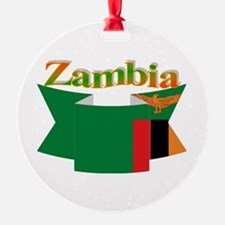 Ribbon Zambia Ornament