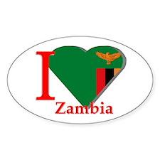 I love Zambia Decal