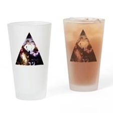 All Seeing All Knowing Drinking Glass