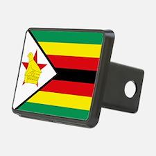 Flag Zimbabwe Hitch Cover