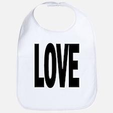 Message T LOVE Bib