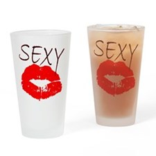 sexy red lips.png Drinking Glass