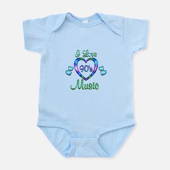 I Love 90s Music Infant Bodysuit
