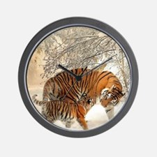 Tiger_2015_0125 Wall Clock