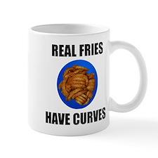 Real fries have curves Mug