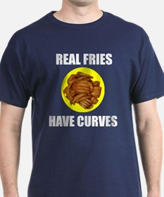 Real fries have curves T-Shirt