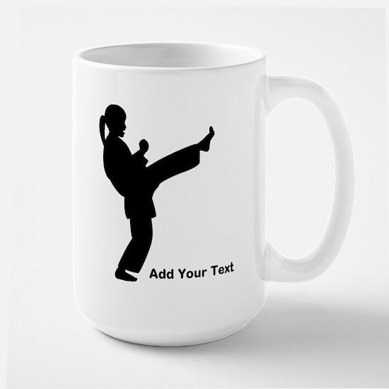 Martial Arts Lessons Large Mug