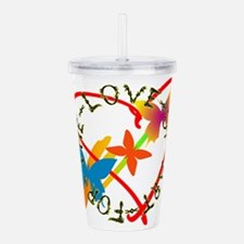 For The Love Of Art Acrylic Double-wall Tumbler