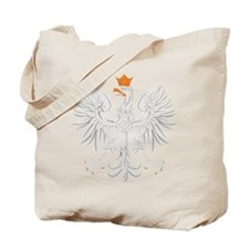 Polish White Eagle Tote Bag