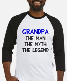 Grandpa man myth legend Baseball Jersey