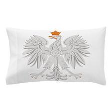 Polish White Eagle Pillow Case