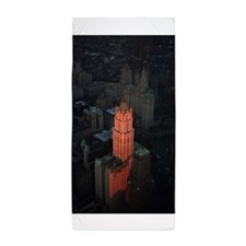 The-Woolworth-Building, NYC Pro photo Beach Towel