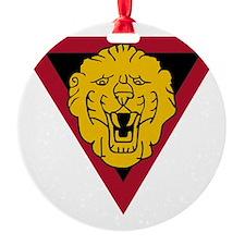 Ist Indepepndent Belgian Brigade Gr Ornament