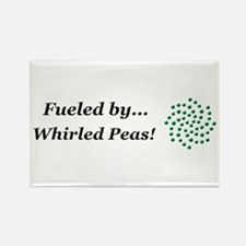 Fueled by Whirled Peas Rectangle Magnet