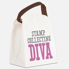 Stamp DIVA Canvas Lunch Bag