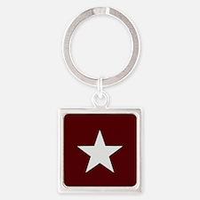 Americana Star Keychains
