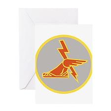 USA 9th Signal Battalion Greeting Cards
