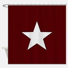 Americana Star Shower Curtain