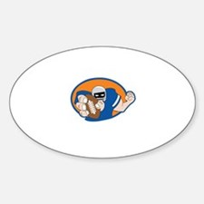 FOOTBALL PLAYER Decal