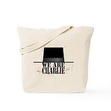 We Are Charlie Je Suis Charlie Tote Bag