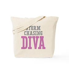 Storm Chasing DIVA Tote Bag