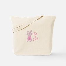 ITS A GIRL Tote Bag