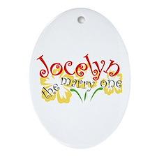 Jocelyn Oval Ornament