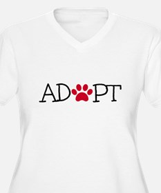 Adopt! Plus Size T-Shirt