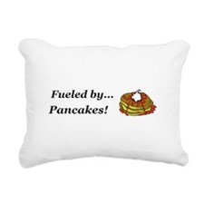Fueled by Pancakes Rectangular Canvas Pillow
