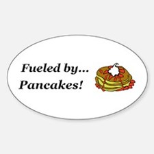Fueled by Pancakes Decal