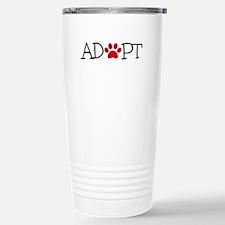 Adopt! Stainless Steel Travel Mug