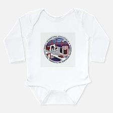 Cute Paisley Long Sleeve Infant Bodysuit