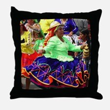 Twist It, Baby Throw Pillow