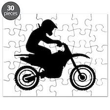 Motocross racing Puzzle