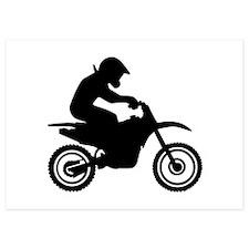 Motocross racing Invitations