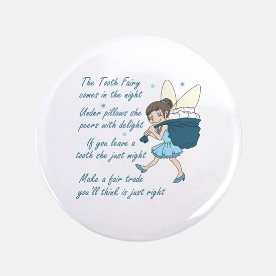 "TOOTH FAIRY POEM 3.5"" Button"