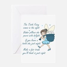 TOOTH FAIRY POEM Greeting Cards