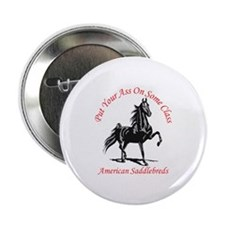 """AMERICAN SADDLEBRED 2.25"""" Button (100 pack)"""