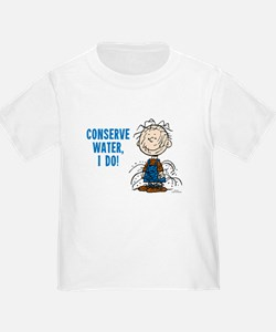 The Peanuts: Conserve Water T