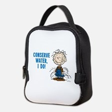 The Peanuts: Conserve Water Neoprene Lunch Bag