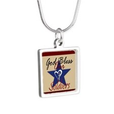 God Bless Soldiers Necklaces