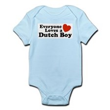 Everyone Loves a Dutch Boy Infant Bodysuit