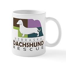 New NDR logo - white dog Mug
