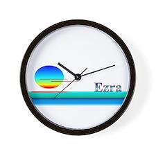 Ezra Wall Clock