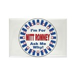 Mitt Romney for President Rectangle Magnet (10 pac