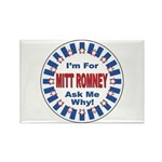 Mitt Romney for President Rectangle Magnet